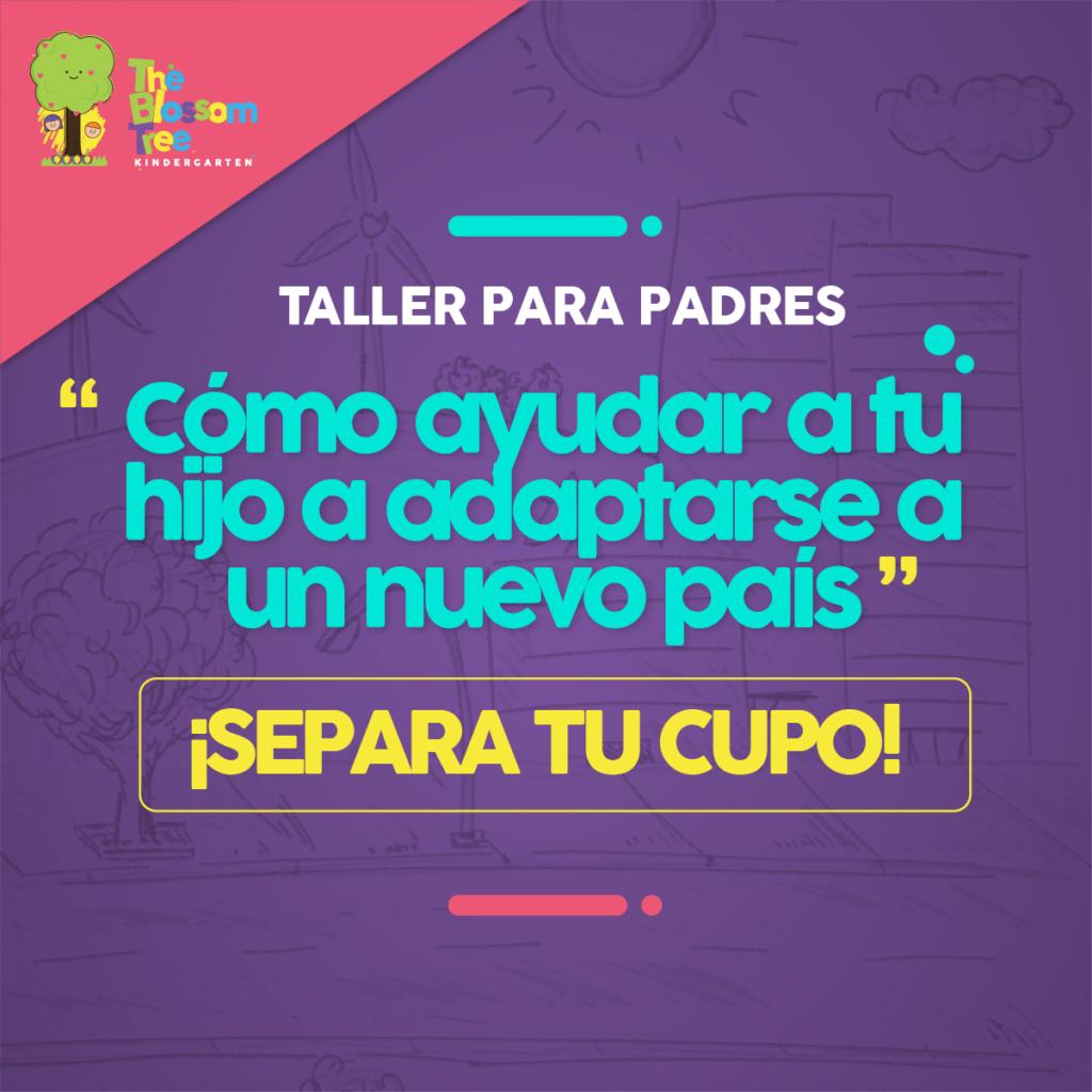 Foto Taller para padres «Como Ayudar a tu hijo a adaptarse a un nuevo país»