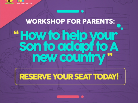 Foto Workshop for parents: «How to help your son to adapt to a new country»